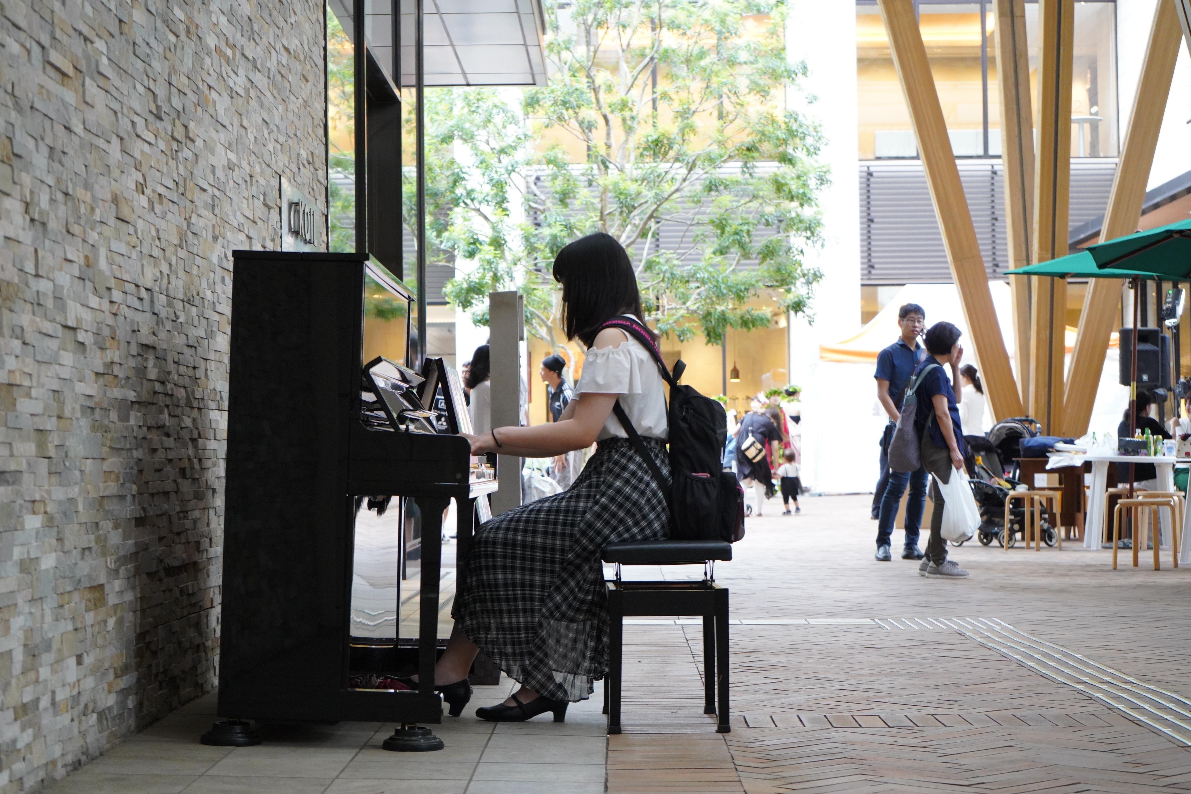柏の葉ストリートピアノプロジェクト